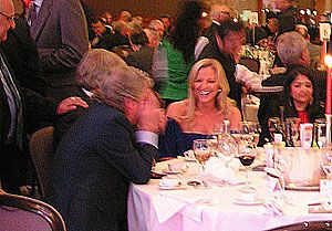 image: UK road haulage transport London Hilton Michelle Mone OBE Jim Davidson She�s RHA