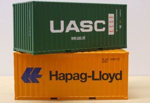 image: Qatar container shipping giant freight box carrier UASC Hapag Germany lines