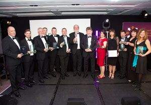 image: UK CILT logistics transport awards Naba Munchetty