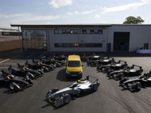 image: FIA Formula 1 freight forwarding supply chain green environmentally friendly logistics
