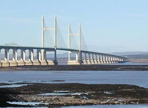 image: UK Severn Crossing freight logistics Wales road tolls British industry
