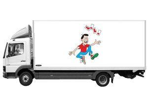 image: UK road haulage driver shortage government training freight transport Treasury