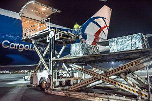 image: CLA loading air freight cargo Asia Middle East Dubai CargoLogicAir