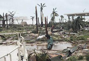 image: UK US Puerto Rico Hurricane Irma victims logistics cargo charity