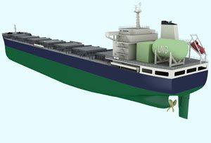 image: LNG Clean Sky bulk freight carrier merchant shipping Lloyds register COSCO