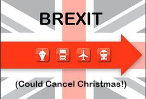 image: UK Christmas cancelled freight logistics transport Battle of Brexit lobby EU