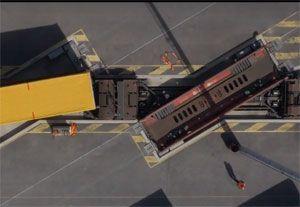 image: France truck shuttle cargo corridor intermodal multimodal rail freight P400 trailer Ekol VIIA