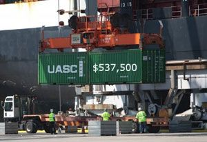 image: US Federal Maritime Commission ocean freight million dollar penalties logistics