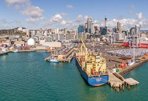 image: New Zealand port Napier Auckland freight shippers Hawke�s Bay
