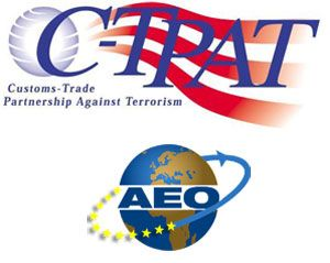 image: Europe USA Handy shipping guide freight directory C-TPAT AEO ISO IATA FIATA