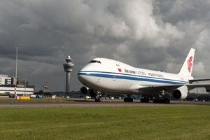 image: Air China Cargo freight handling road feeder services