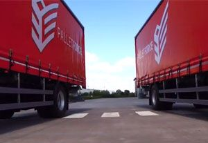 image: UK Freight forwarding investment group logistics NFT chilled food distribution PalletForce EmergeVest depots road haulage