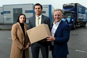 image: Woodland Ireland S�an �g O hAilp�n freight forwarding supply chain warehouse Cork hurling legend