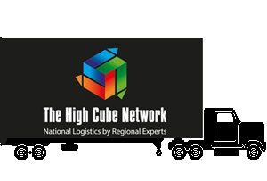 image: UK Ireland road haulage high cube trailer multimodal logistics network pallet