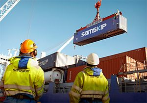 image: US freight forwarders Samskip Rimar logistics forwarding reefer refrigerated TEU