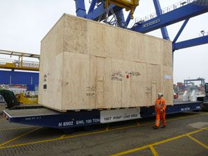 image: UK Mexico project freight forwarding contract flat rack container maafi