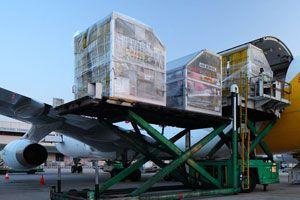 image: IATA air freight cargo volumes kilometres