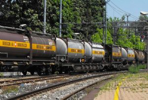 image: European rail freight cargo Commission Green Lanes