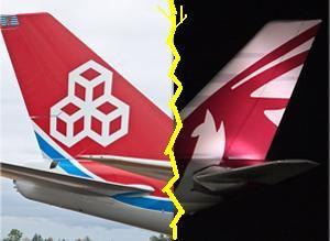 image: Luxembourg freight cargo airline cartel anti trust Cargolux Qatar