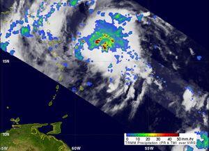 image: Hurricane Irene freight vessels airports NASA