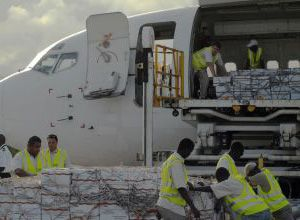 image: US Africa freight supply chain logistics Somalia famine