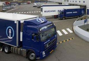 image: Kuehne Nagel K + N freight forwarding logistics cargo shippers Minsk Belarus Poland Warsaw cargo hub
