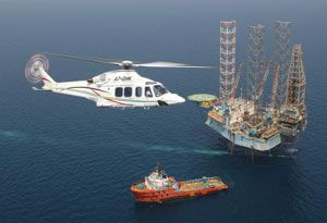 image: Norbert Dentressangle helicopter freight road haulage logistics supply chain Finmeccanica Italy AgustaWestland UK