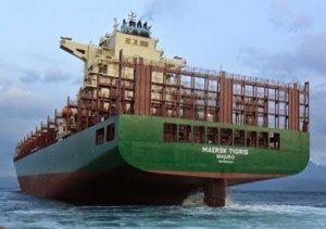 image: Iran container ship Maersk Line TEU seized Tigris Kensington