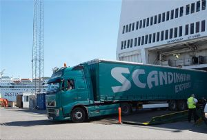 image: Sweden ports of Stockholm Gothenburg ferry RoRo container freight volumes