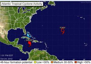 image: Caribbean freight vessel fishing boat passenger ship Hurricane Sandy