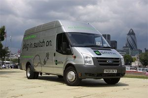image: UK Germany electric van car vehicle freight delivery colognE-mobil  infrastructure
