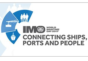 image: IMO world maritime day ports safety Felixstowe