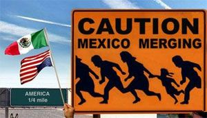 image: Mexico US shipping freight trucks transit border protectionism truckers bulk container lines