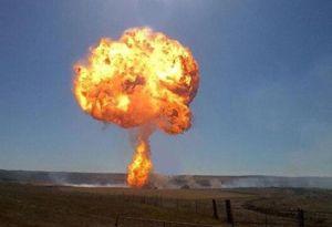 image: US freight train cargo explosion ethanol haulage