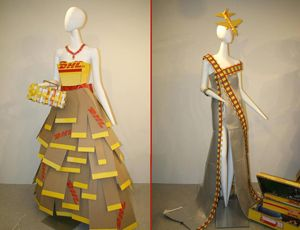 image: COLCCI DHL freight logistics fashion design express transport