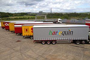image: UK Harlequin freight logistics road haulage operator