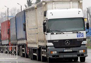 image: Russian trucks Ukrainian road haulage freight