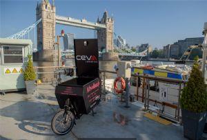 image: UK, Guy�s & St Thomas, NHS, trust, Livetts, river, Thames, boat, courier, CEVA, logistics, supply chain,