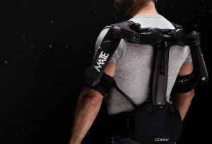 image: Italy, Germany, Comau, wearable, robotic, technology, back, injury, strain, IUVO,pick and pack, warehouse,