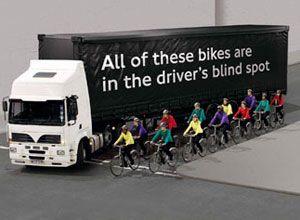 image: UK freight transport association cyclist safety logistics road haulage logistics
