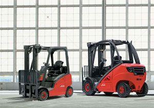 image: Linde fork truck extended warranty material handling