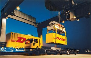 image: DHL freight logistics carbon neutral EU Presidency Danish