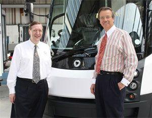image: Daimler electric truck freight hybrid vehicles van bus infrastructure tonne GVW