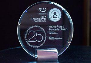 image: UK freight forwarder BIFA awards cargo Peter Lole Insurance logistics