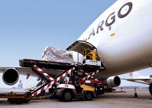 image: IATA air freight volumes cargo revenue tonnes per kilometre