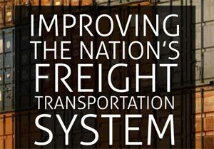image: US freight logistics multimodal container shipping 21st Century transportation report John J Duncan Jr