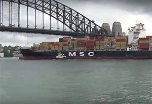 image: Australia cabotage sea freight cruise ships passenger road haulage cargo