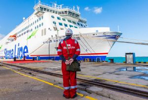 image: UK Ireland Stena Line freight ferry furlough redundancies