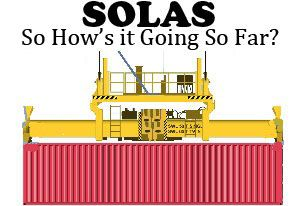 image: UK SOLAS VGM verified gross mass freight forwarding shippers BIFA TT Club GSF forum exported containers