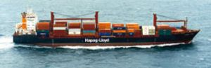 image: Container, shippers, NOL, Hapag, Lloyd, Albert, Ballin, TUI, tourism, freight